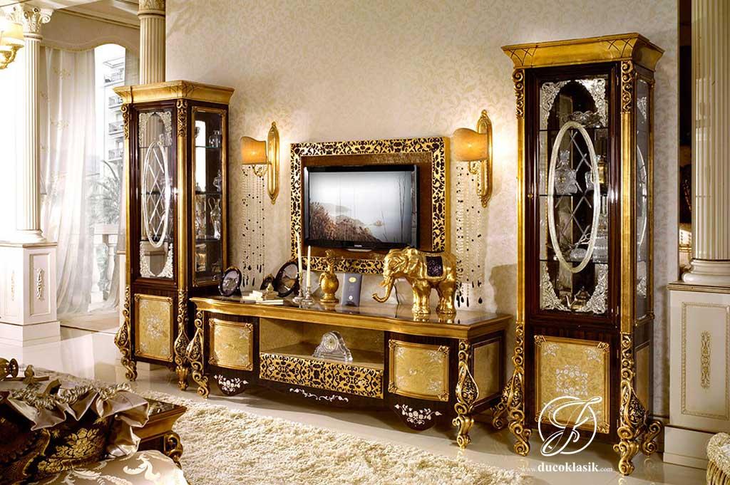 Set Bufet TV Klasik Ukir Royal Eropa