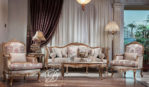 Jual Set Kursi Sofa Tamu Duco Emas Marwa