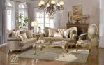 Set Kursi Sofa Tamu Duco Emas Meridian