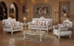 Set Kursi Sofa Tamu Duco Putih Venice
