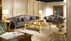 Set Kursi Sofa Tamu Duco Ukir Majestic