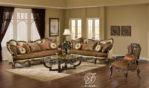 Set Kursi Sofa Tamu Klasik Ukir Abrianna