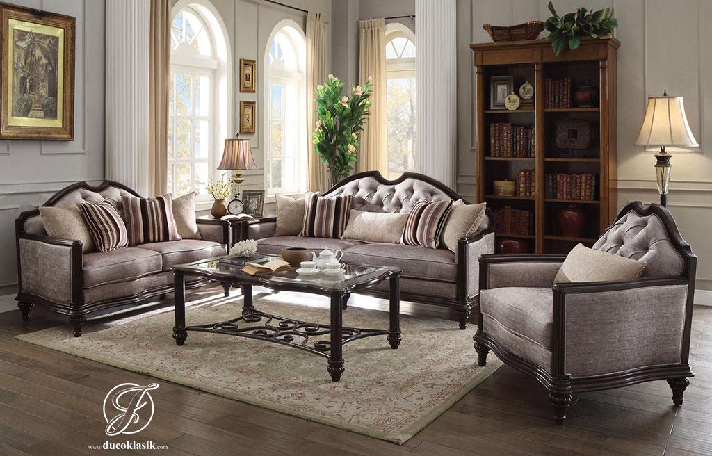 Set Kursi Sofa Tamu Minimalis Love Classic
