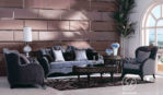 Set Kursi Sofa Tamu Modern Ukir Monarki