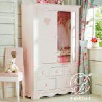 Lemari Anak Perempuan Cantik Minimalis 2 Pintu