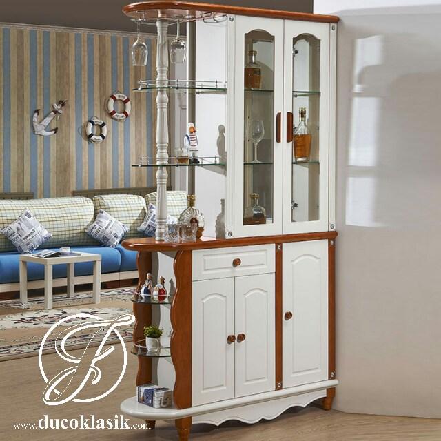 Jual Lemari Hias Minimalis Penyekat Ruang Tamu Furniture