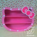 Rak Buku Anak Hello Kitty Minimalis Modern