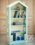 Rak Buku Mainan Anak Minimalis Bentuk Rumah