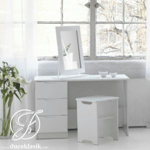 Meja Rias Minimalis Putih Simple Modern