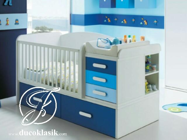 Box Bayi Lucu Multifungsi Duco Putih Biru