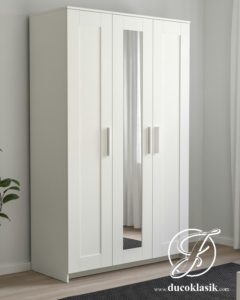 Lemari Pakaian 3 Pintu Minimalis Simple Modern