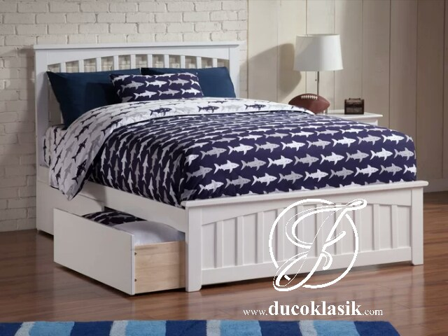 Tempat Tidur Anak Cat Duco Minimalis Modern