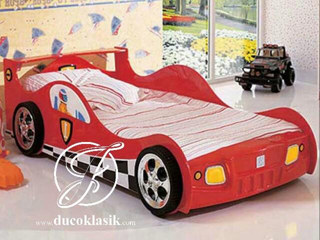Tempat Tidur Anak Karakter Bertema Mobil Balap