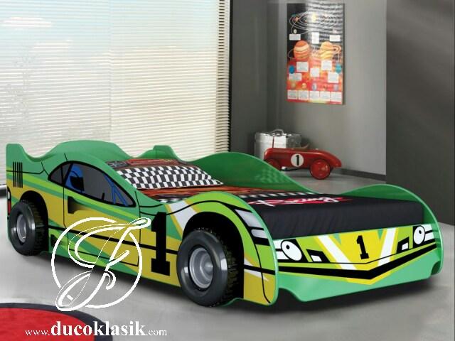 Tempat Tidur Anak Laki Laki Bentuk Mobil Balap