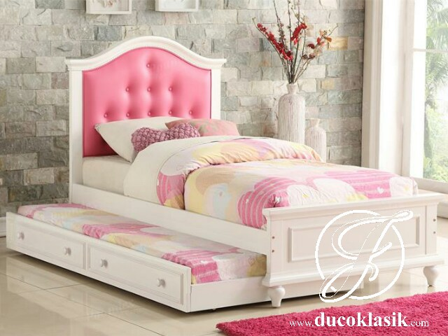 Tempat Tidur Anak Perempuan Minimalis Berkarakter