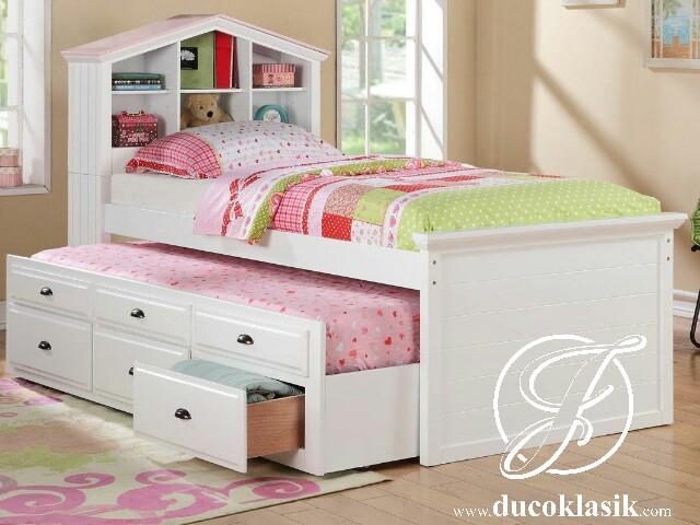Tempat Tidur Anak Perempuan Minimalis Serbaguna