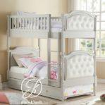 Tempat Tidur Anak Tingkat Minimalis Busa Jok