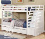 Tempat Tidur Minimalis Anak Tingkat Tangga Laci Sorong
