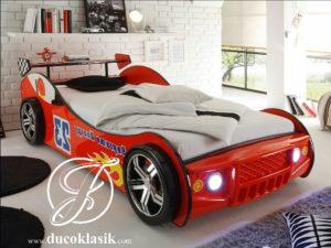 Tempat Tidur Mobil Anak Laki-Laki Racing Cars