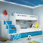 Tempat Tidur Tingkat Anak Laki Laki Minimalis Berkarakter