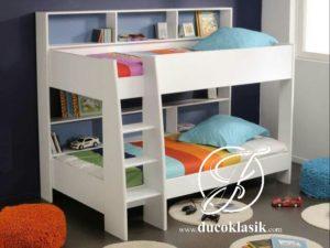 Tempat Tidur Tingkat Anak Laki Laki Minimalis Serbaguna