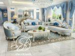 Set Ruang Tamu Mewah Sofa Ukir Louis Klasik