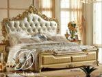 Tempat Tidur Emas Royal Ukir Klasik