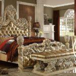 Tempat Tidur Eropa Klasik Full Ukiran