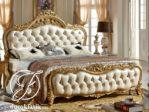 Tempat Tidur Mewah Mahkota Ratu Ukir Klasik