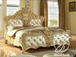Tempat Tidur Mewah Ukir Raja Klasik