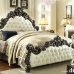 Tempat Tidur Mewah Ukir Victorian Black