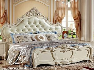 Tempat Tidur Pengantin Ukir Modern