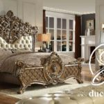 Tempat Tidur Ukir Mewah Victorian Classic