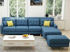 Sofa Minimalis Ruang Tamu Sudut Simple Modern
