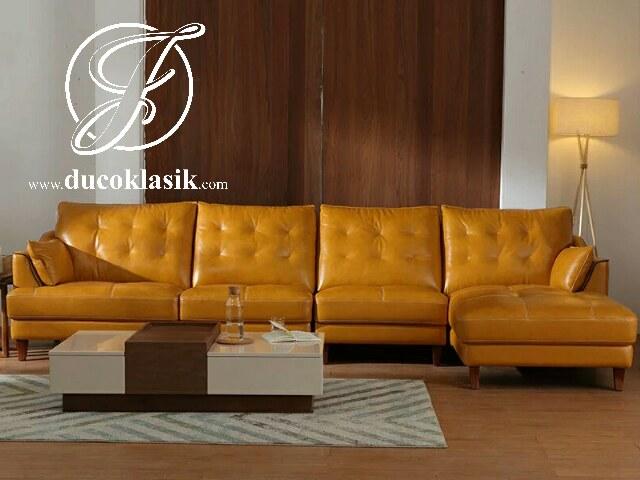 Sofa Ruang Tamu Minimalis Sudut Simple Modern
