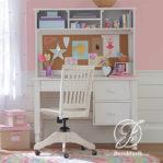 Meja Belajar Tinggi Anak Perempuan Minimalis Modern