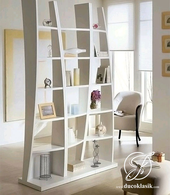 Jual Rak Buku Penyekat Ruang Minimalis Modern Furniture