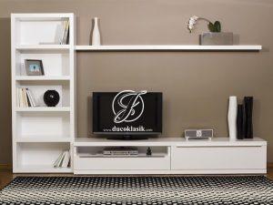 Meja Rak TV Dinding Minimalis Modern