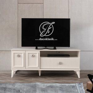 Rak TV Kayu Murah Minimalis Modern