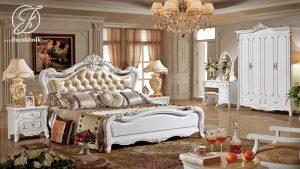 Set Kamar Tidur Pengantin Ukir Modern