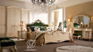 Set Kamar Tidur Ukir Classic Luxury Italian